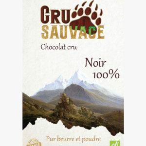 Chocolat cru sauvage 100%