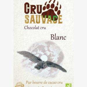 Chocolat cru sauvage Blanc