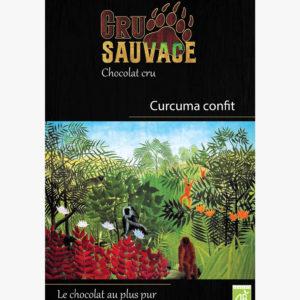 Chocolat cru sauvage Curcuma confit