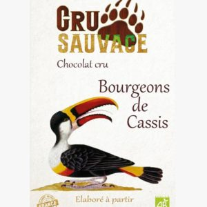 chocolat cru sauvage - Bourgeons de cassis